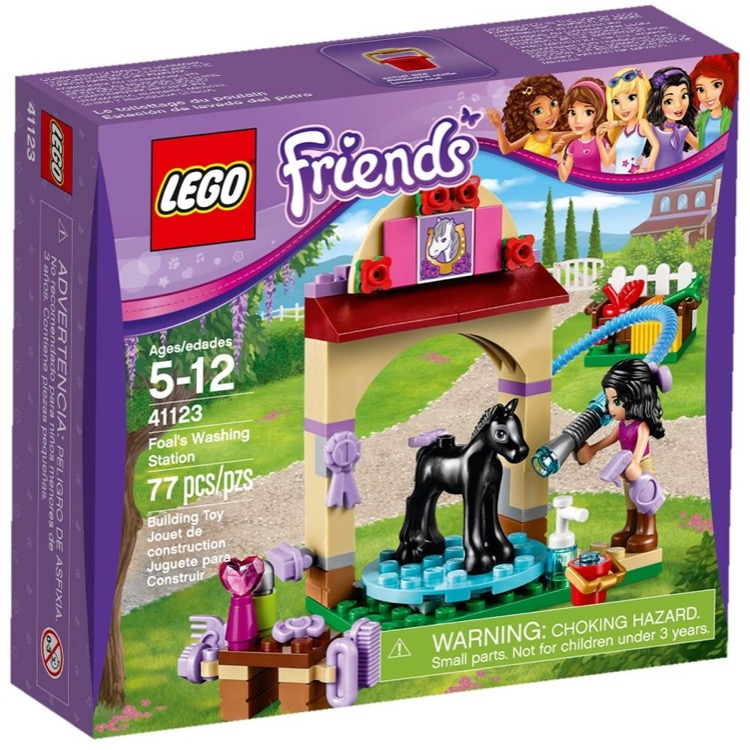LEGO Friends Sets: 41123 Foal's Washing Station NEW