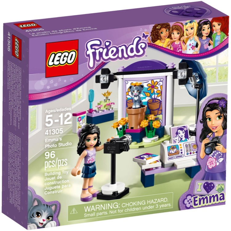 LEGO Friends Sets: 41305 Emma's Photo Studio NEW