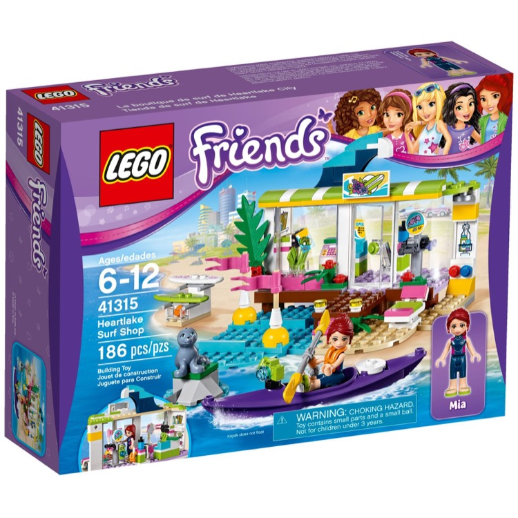 LEGO Friends Sets: 41315 Heartlake Surf Shop NEW
