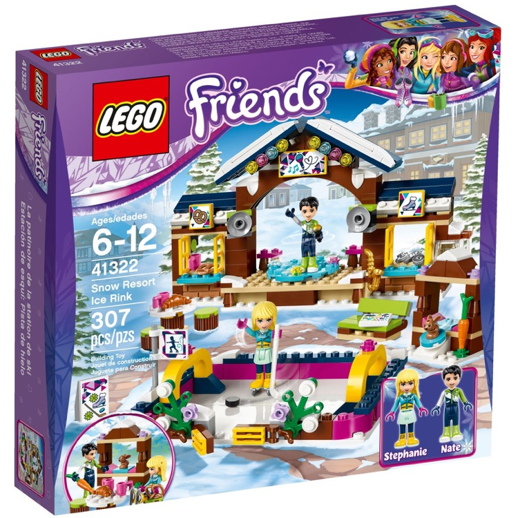 LEGO Friends Sets: 41322 Snow Resort Ice Rink NEW