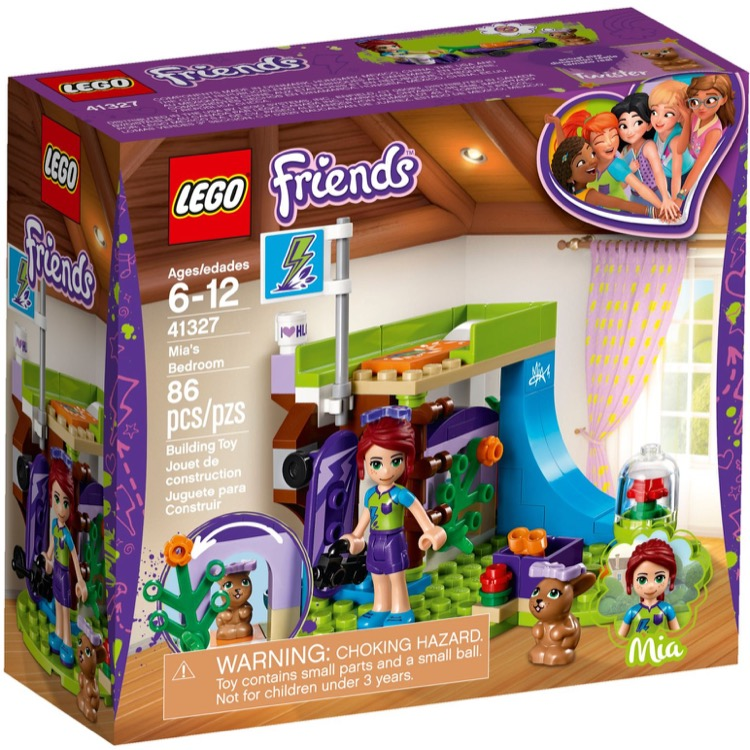 LEGO Friends Sets: 41327 Mia's Bedroom NEW
