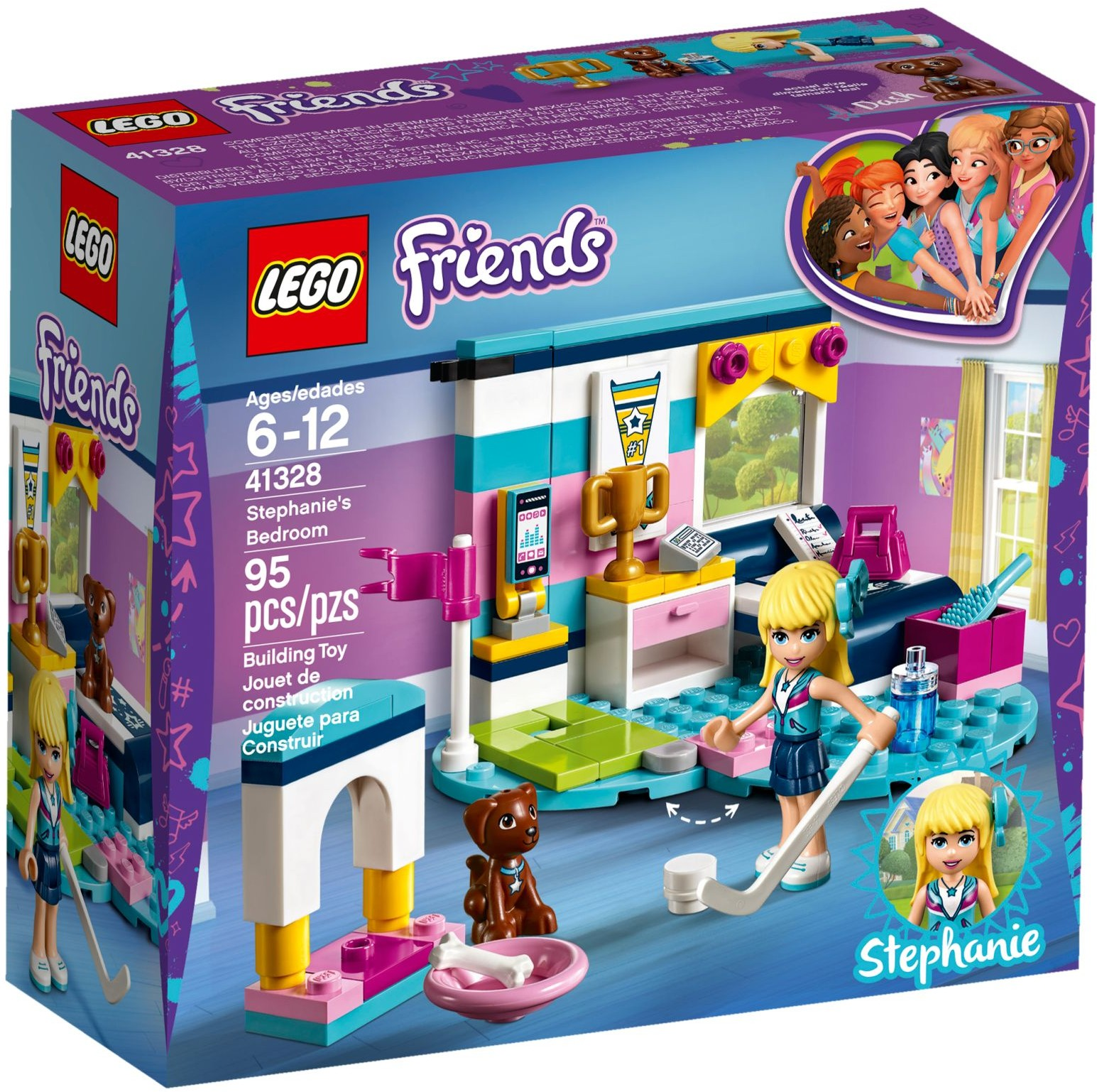 LEGO Friends Sets: 41328 Stephanie's Bedroom NEW