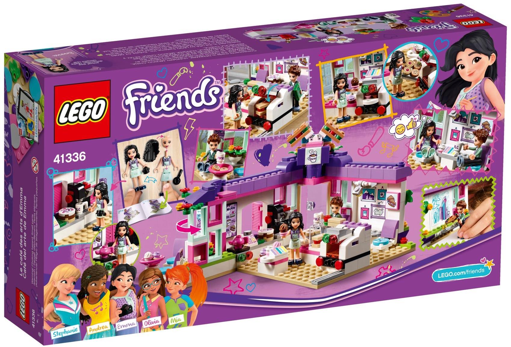 LEGO Friends Sets: 41336 Emma's Art Cafe NEW