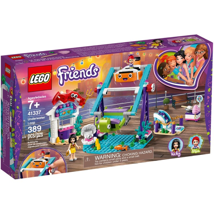LEGO Friends Sets: 41337 Underwater Loop NEW