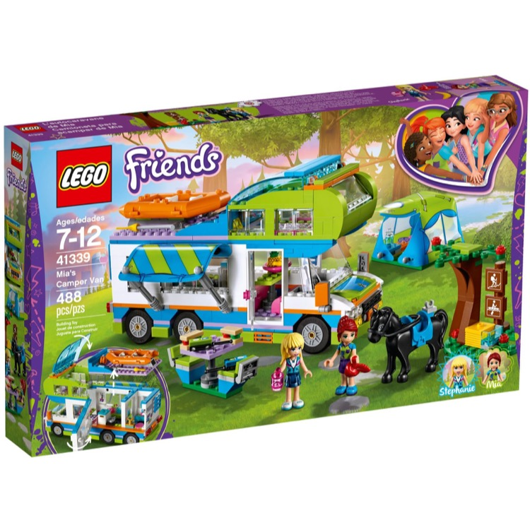 LEGO Friends Sets: 41339 Mia's Camper Van NEW