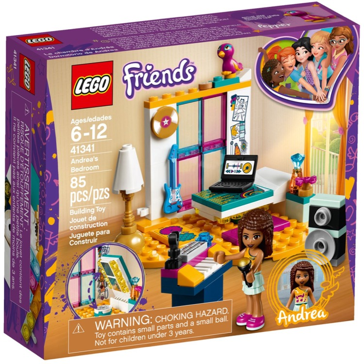 LEGO Friends Sets: 41341 Andrea's Bedroom NEW *Damaged Box*