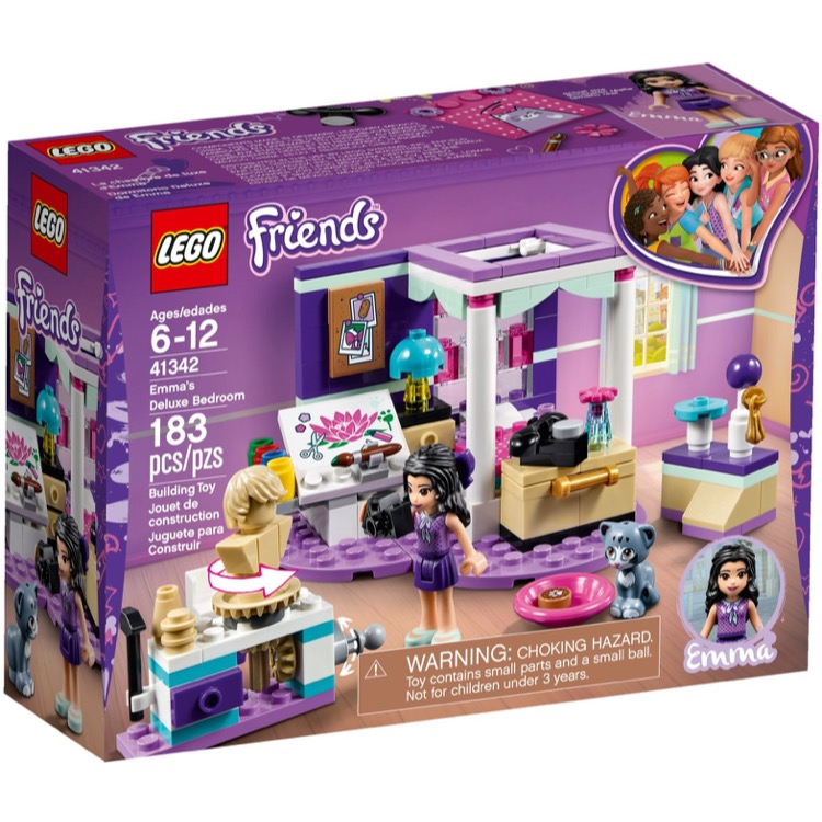 LEGO Friends Sets: 41342 Emma's Deluxe Bedroom NEW