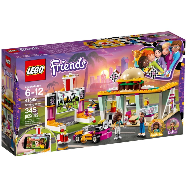 LEGO Friends Sets: 41349 Drifting Diner NEW