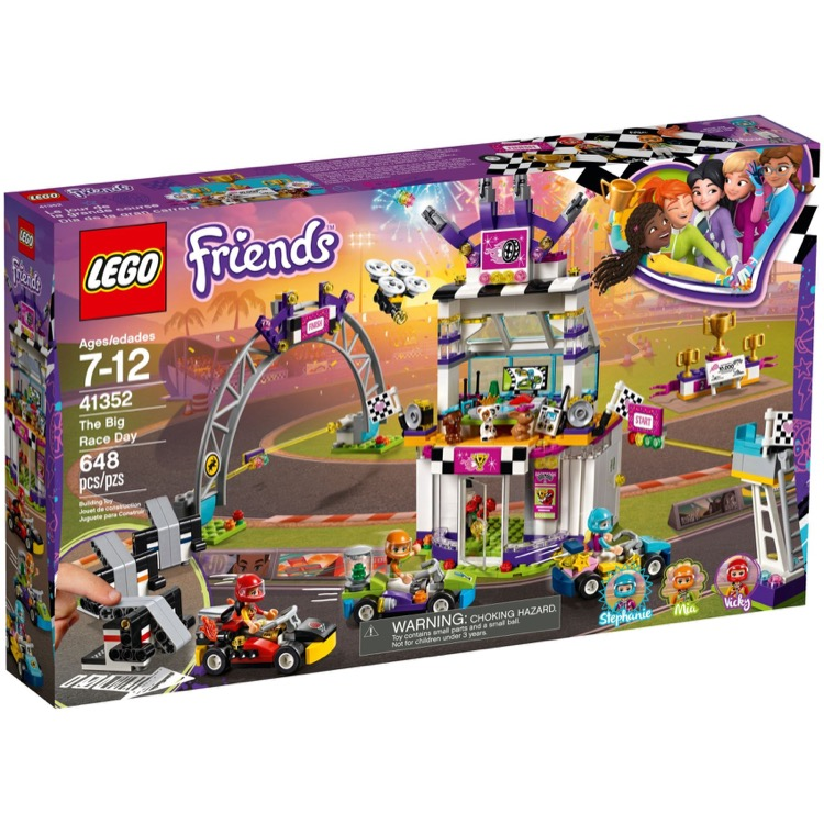 LEGO Friends Sets: 41352 The Big Race Day NEW