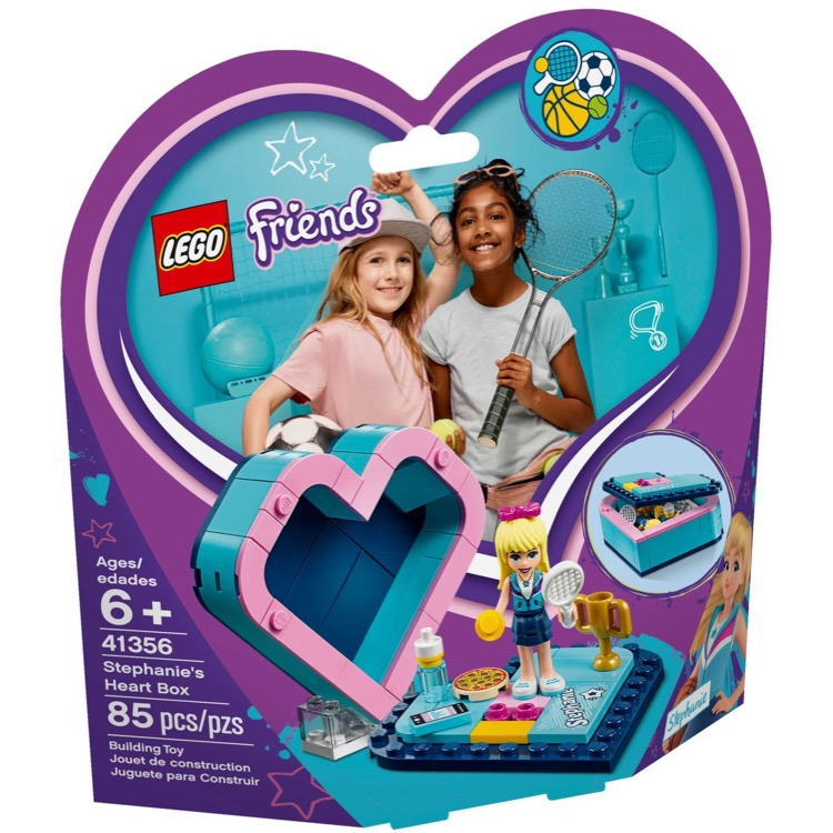 LEGO Friends Sets: 41356 Stephanie's Heart Box NEW