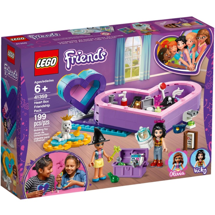 LEGO Friends Sets: 41359 Heart Box Friendship Pack NEW