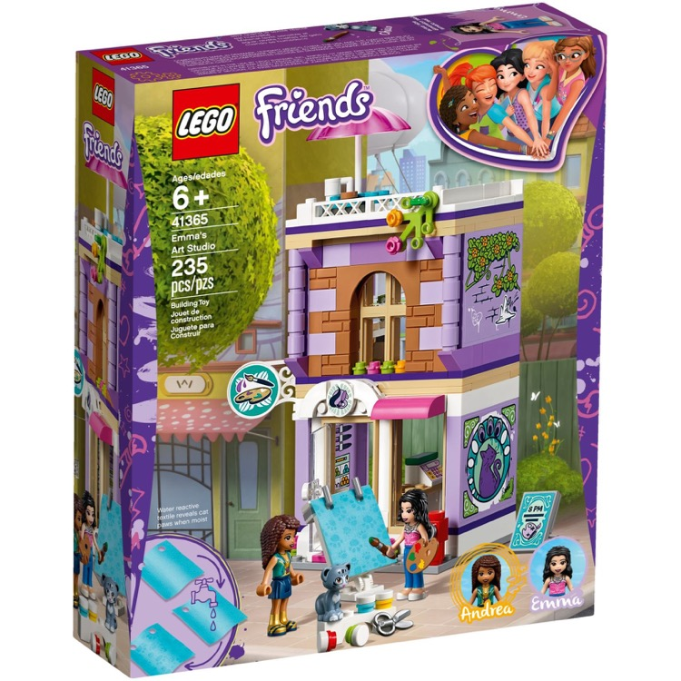 LEGO Friends Sets: 41365 Emma's Art Studio NEW