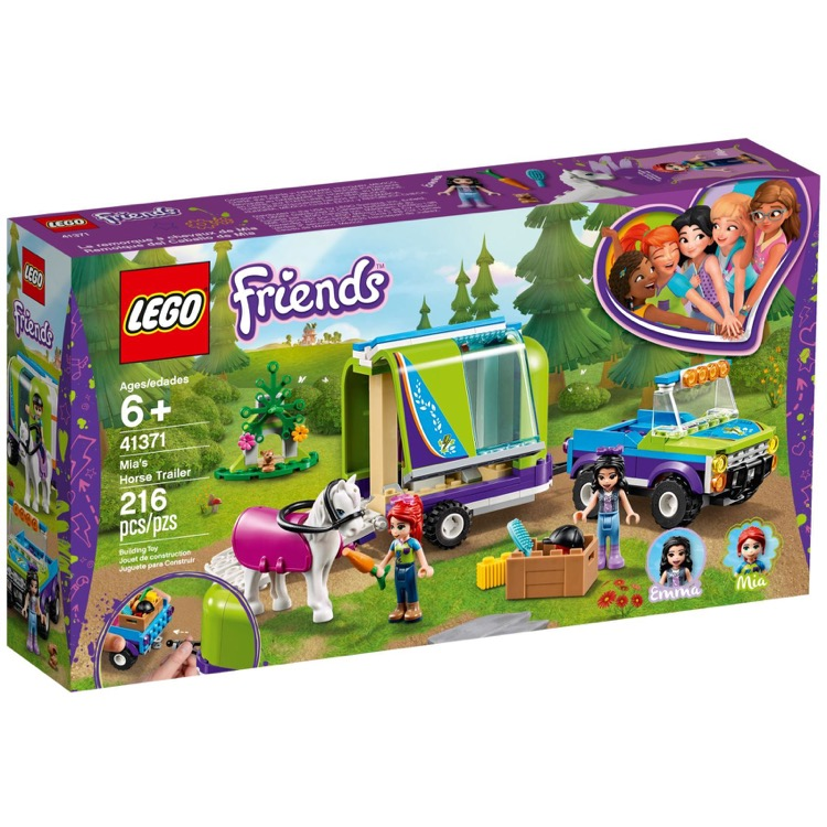 LEGO Friends Sets: 41371 Mia's Horse Trailer NEW