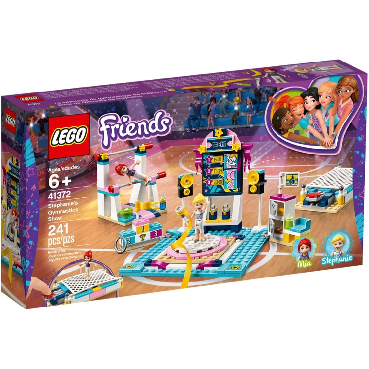 LEGO Friends Sets: 41372 Stephanie's Gymnastics Show NEW