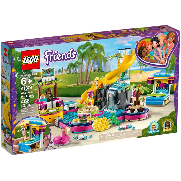LEGO Friends Sets: 41374 Andrea's Pool Party NEW