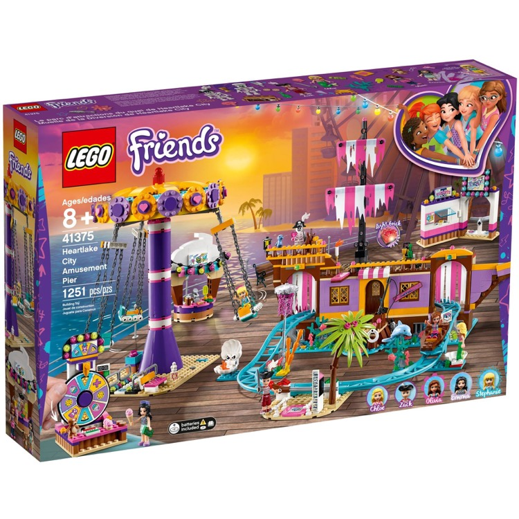 LEGO Friends Sets: 41375 Heartlake City Amusement Pier NEW