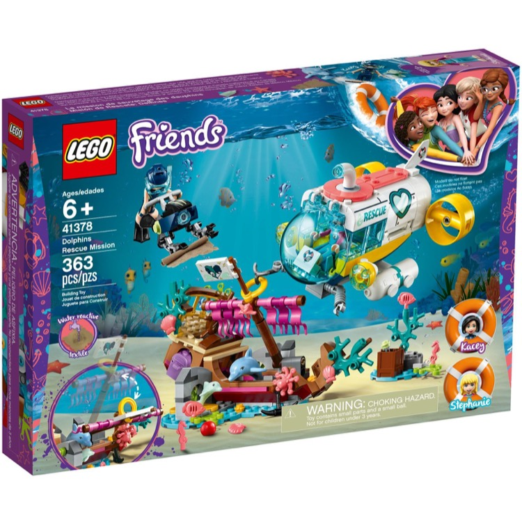 LEGO Friends Sets: 41378 Dolphins Rescue Mission NEW