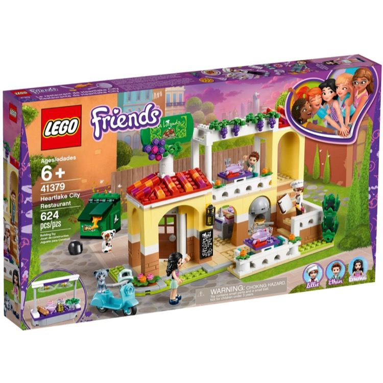 LEGO Friends Sets: 41379 Heartlake City Restaurant NEW