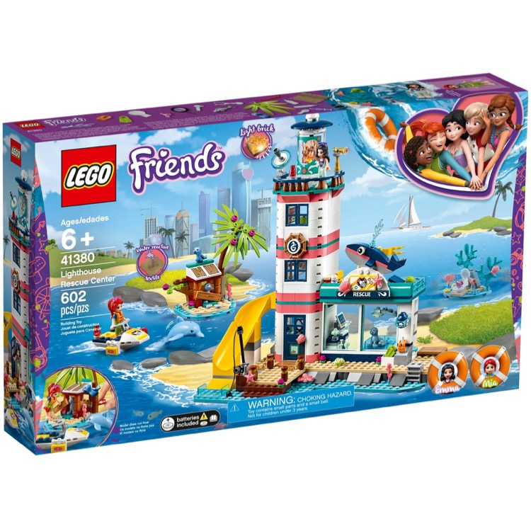 LEGO Friends Sets: 41380 Lighthouse Rescue Center NEW