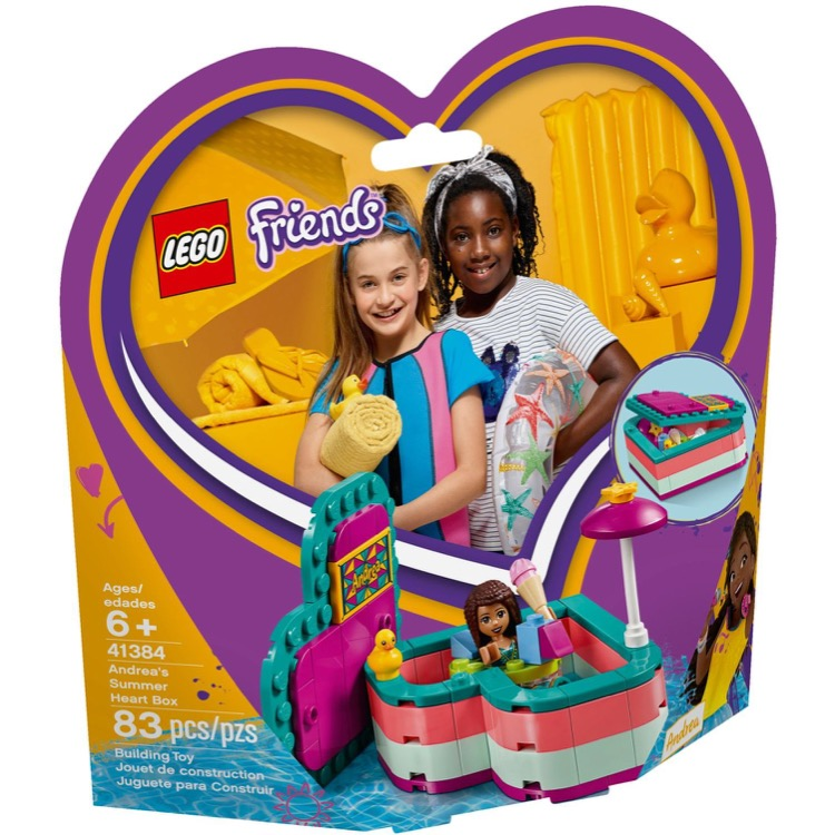 LEGO Friends Sets: 41384 Andrea's Summer Heart Box NEW