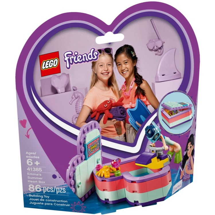 LEGO Friends Sets: 41385 Emma's Summer Heart Box NEW