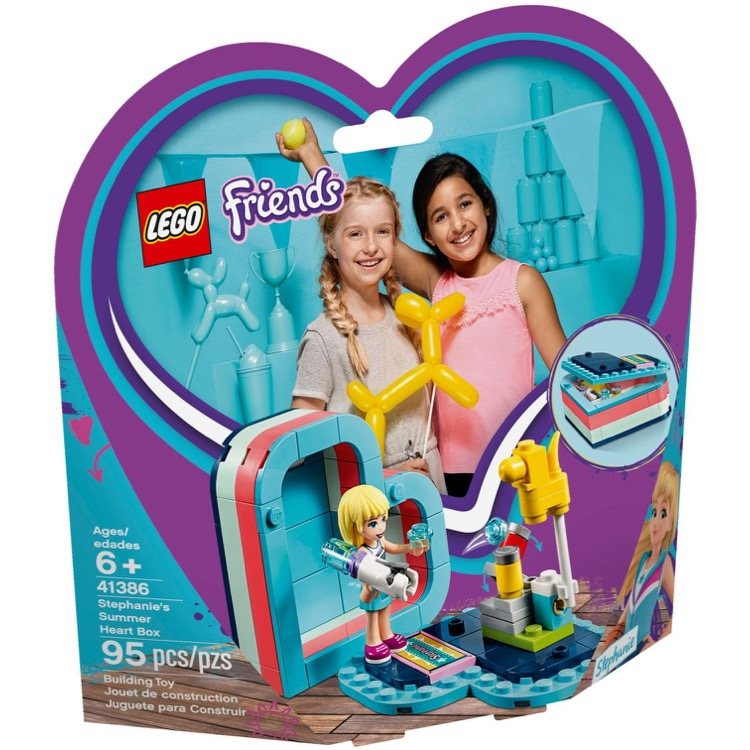 LEGO Friends Sets: 41386 Stephanie's Summer Heart Box NEW