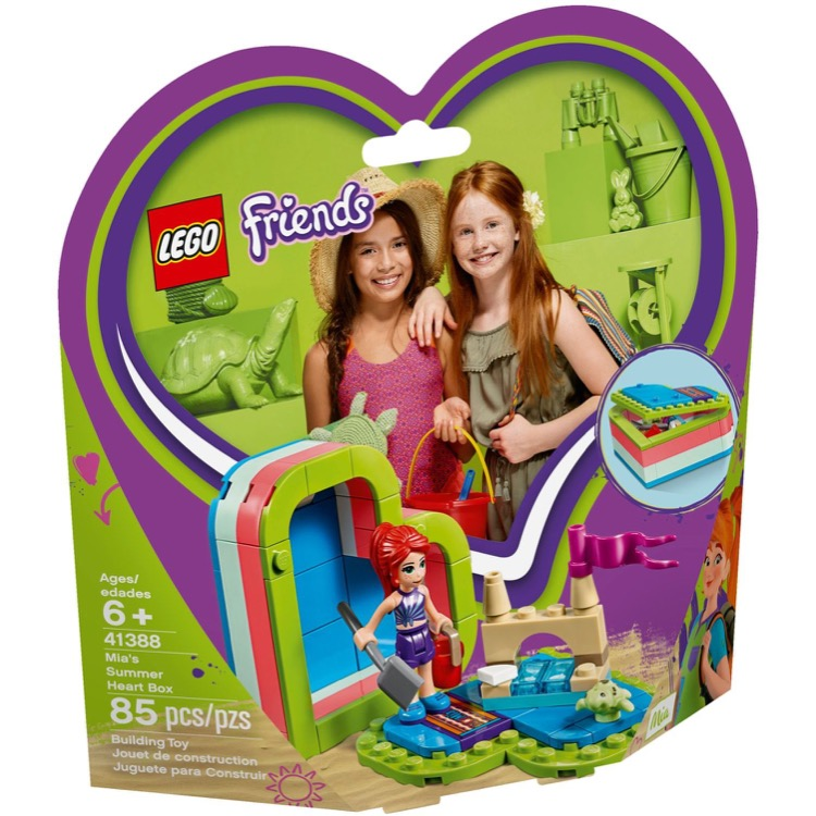 LEGO Friends Sets: 41388 Mia's Summer Heart Box NEW