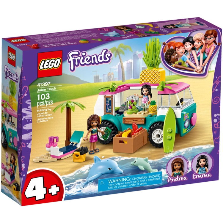 LEGO Friends Sets: 41397 Juice Truck NEW