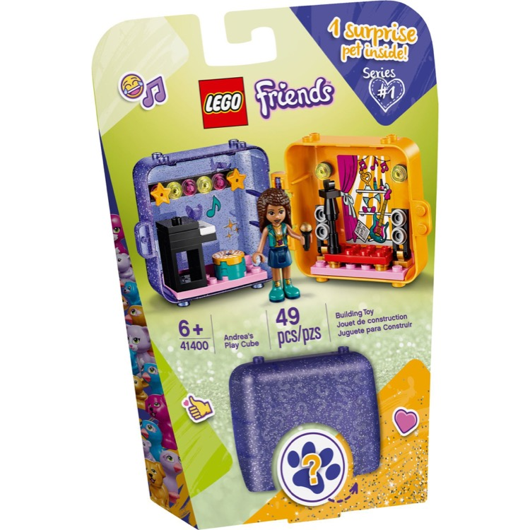 LEGO Friends Sets: 41400 Andrea's Play Cube NEW