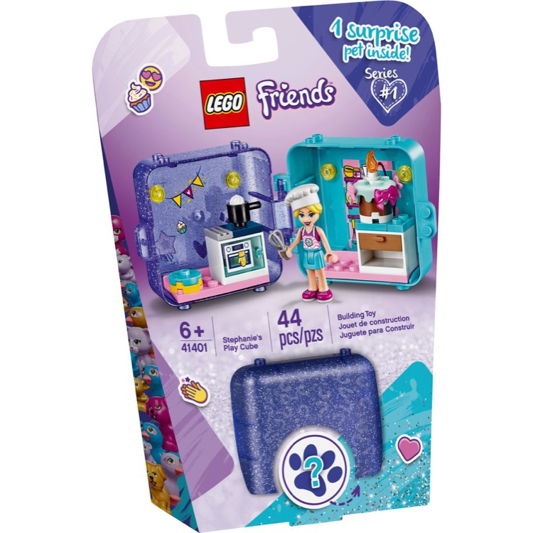 LEGO Friends Sets: 41401 Stephanie's Play Cube NEW