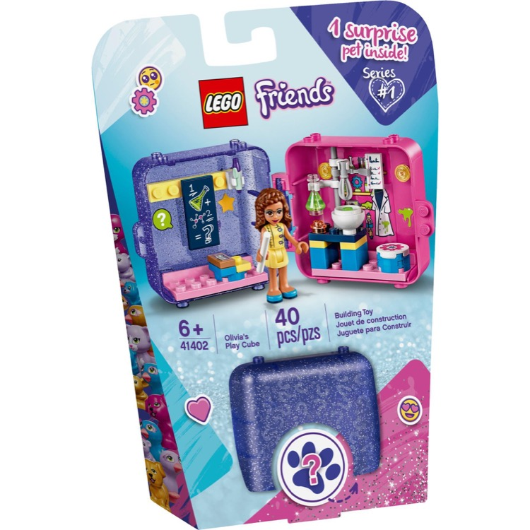 LEGO Friends Sets: 41402 Olivia's Play Cube NEW