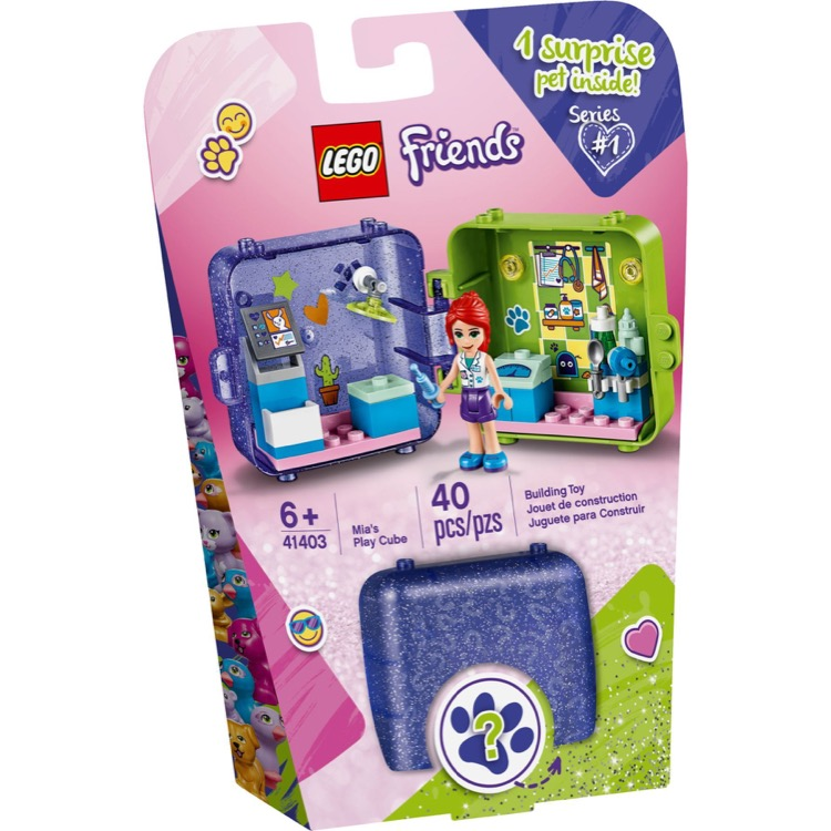 LEGO Friends Sets: 41403 Mia's Play Cube NEW
