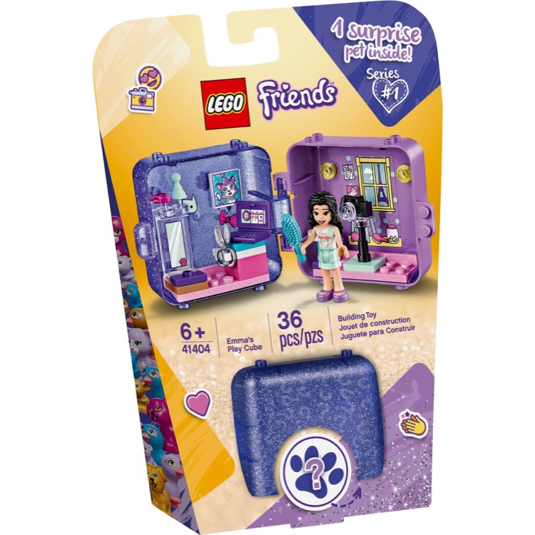 LEGO Friends Sets: 41404 Emma's Play Cube NEW