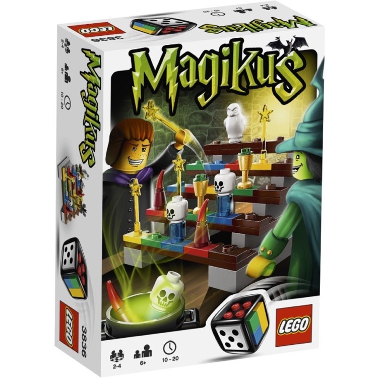 LEGO Games Sets: 3836 Magikus NEW
