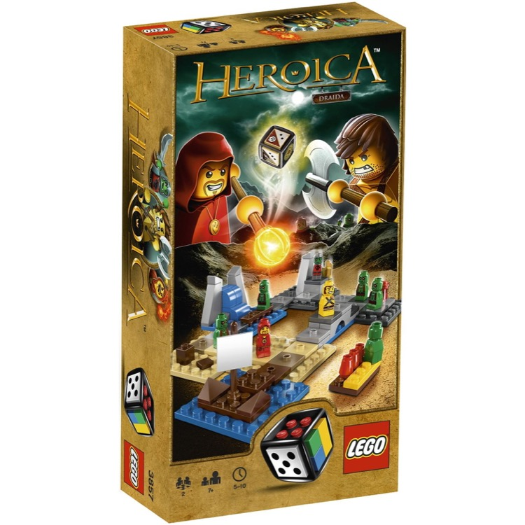 LEGO Games Sets: 3857 Heroica Draida Bay NEW