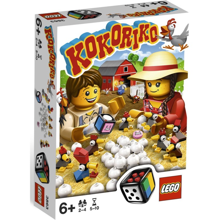 LEGO Games Sets: 3863 Kokoriko NEW
