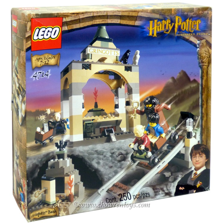 LEGO Harry Potter Sets: 4714 Gringotts Bank NEW *Rough Shape*
