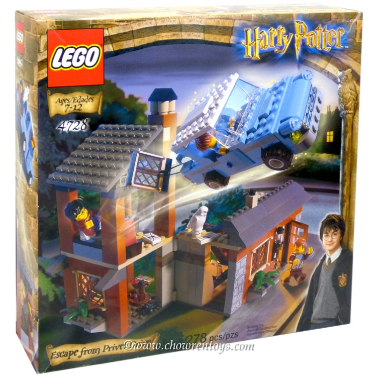 LEGO Harry Potter Sets: 4728 Escape from Privet Drive NEW *Damaged Box*