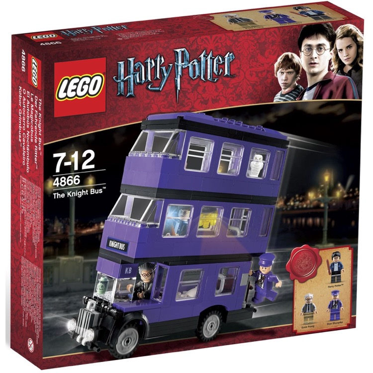 LEGO Harry Potter Sets: 4866 The Knight Bus NEW