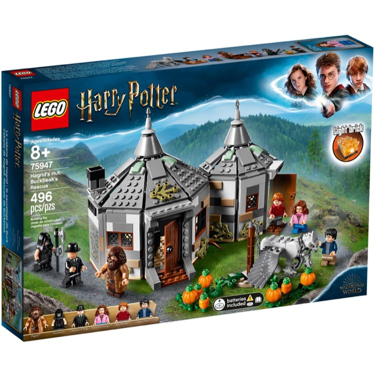 LEGO Harry Potter Sets: 75947 Hagrid's Hut: Buckbeak's Rescue NEW