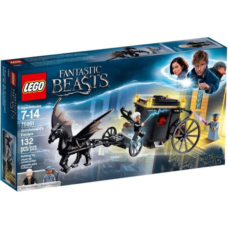 LEGO Harry Potter Sets: 75951 Grindelwald's Escape NEW