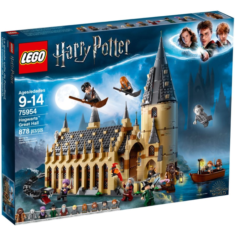 LEGO Harry Potter Sets: 75954 Hogwarts Great Hall NEW