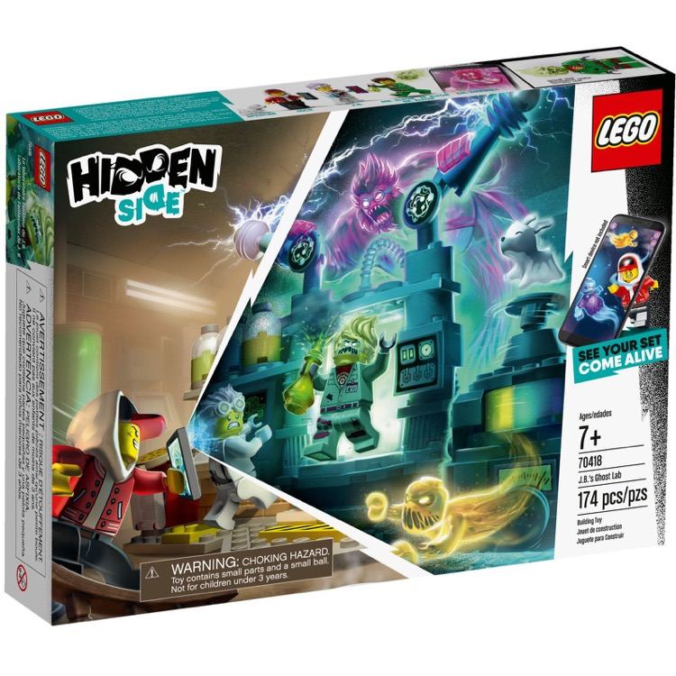LEGO Hidden Side Sets: 70418 J.B.'s Ghost Lab NEW