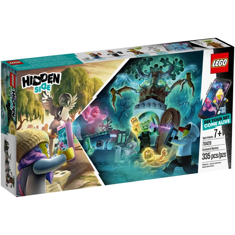 LEGO Hidden Side Sets: 70420 Graveyard Mystery NEW