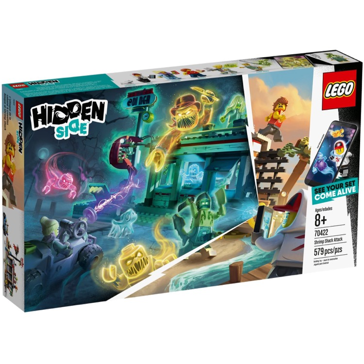 LEGO Hidden Side Sets: 70422 Shrimp Shack Attack NEW