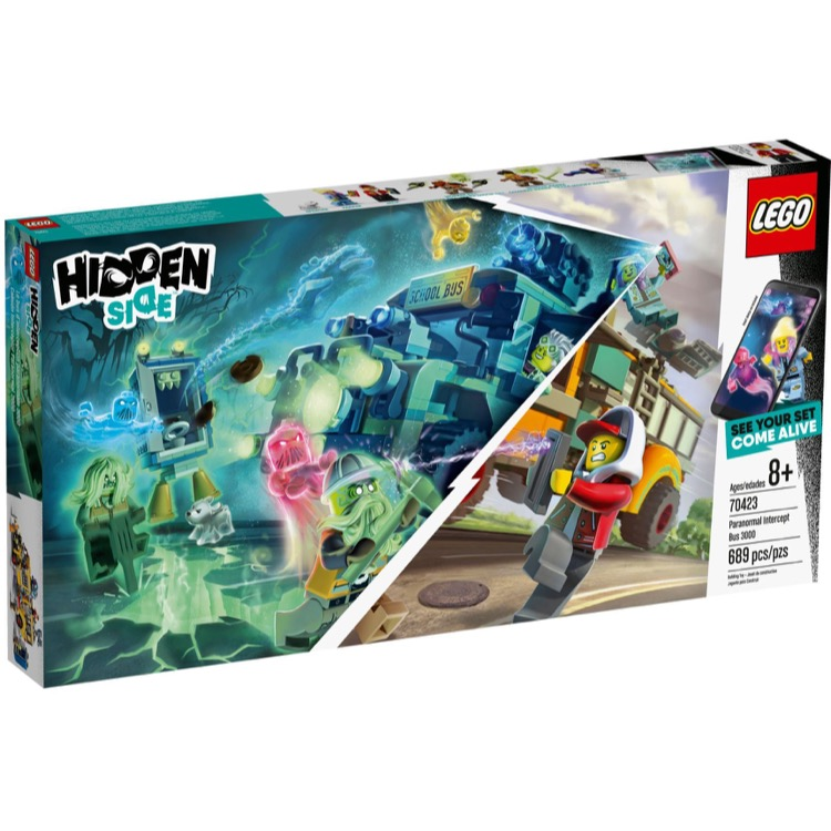 LEGO Hidden Side Sets: 70423 Paranormal Intercept Bus 3000 NEW