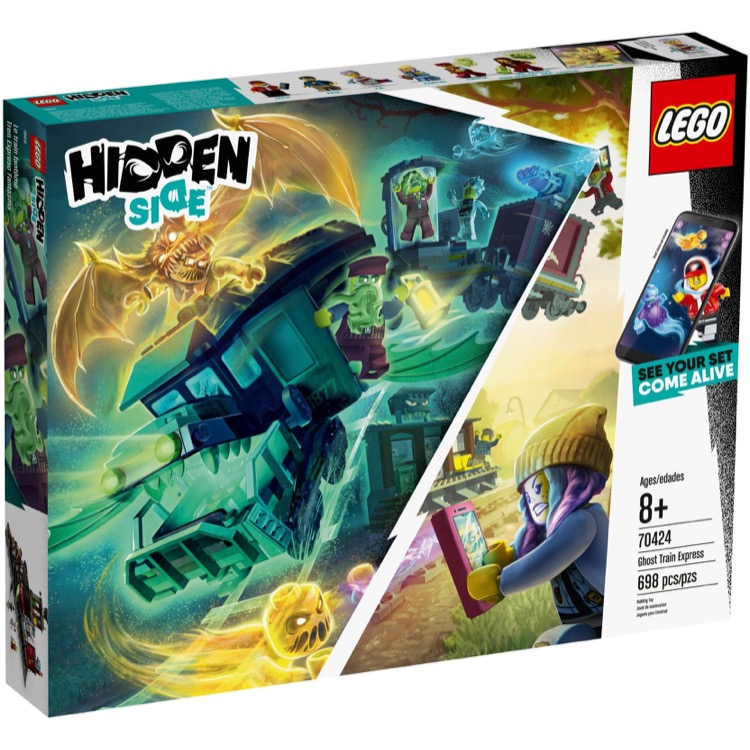 LEGO Hidden Side Sets: 70424 Ghost Train Express NEW