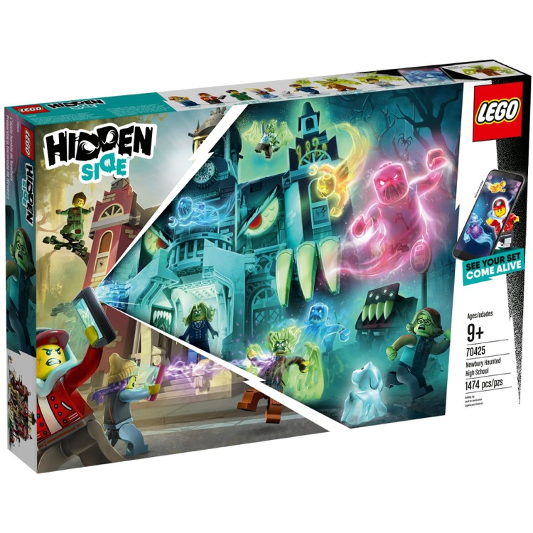 LEGO Hidden Side Sets: 70425 Newbury Haunted High School NEW