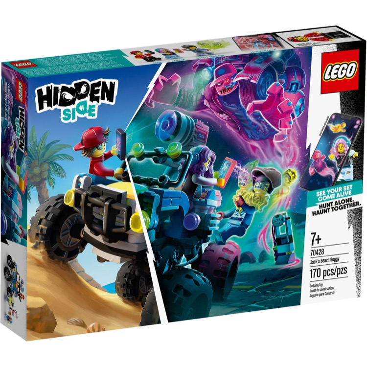 LEGO Hidden Side Sets: 70428 Jack's Beach Buggy NEW