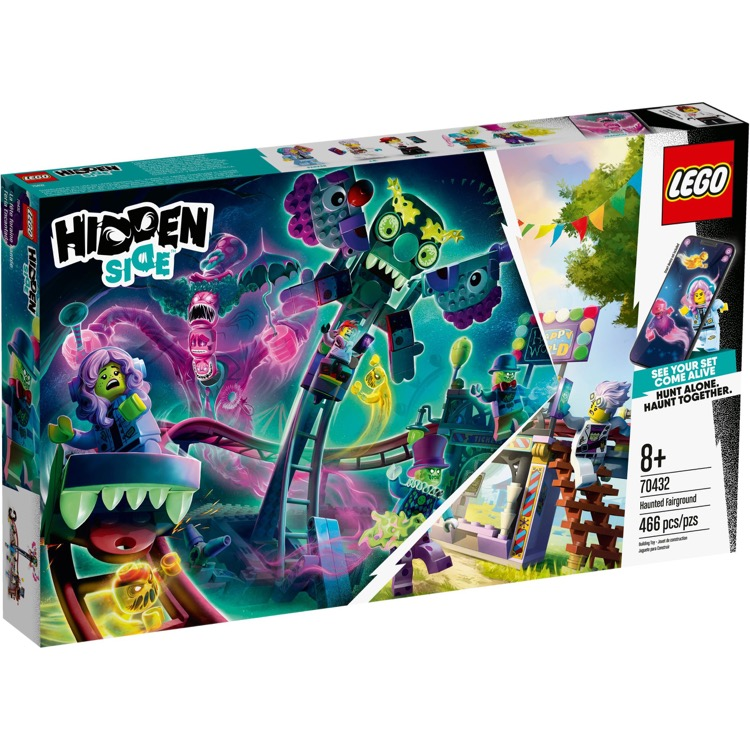 LEGO Hidden Side Sets: 70432 Haunted Fairground NEW